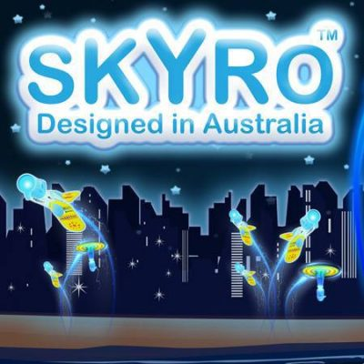 SKYRO The Flying Glow in the Dark Toy1